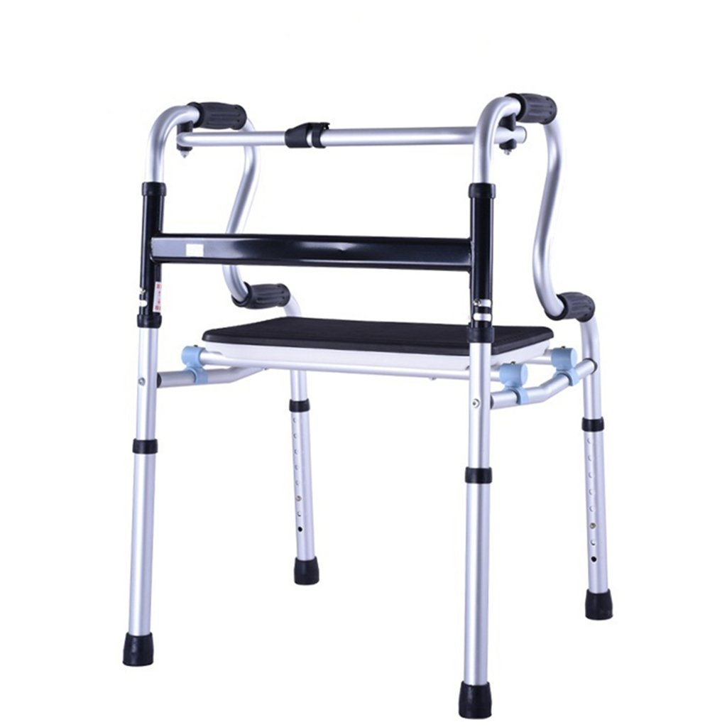 最初の  高齢者ヘルスケア折りたたみ軽量アルミ製の歩行フレームは調節可能な高さで座り、寝ることができますサイズ:53x46x76.5-94cm (サイズ Ailin home (サイズ : さいず : 53x46x76.5-94cm) 53x46x76.5-94cm B07MMWJRXD B07MMWJRXD, NHKスクエア DVDCD館:e076fd5a --- a0267596.xsph.ru