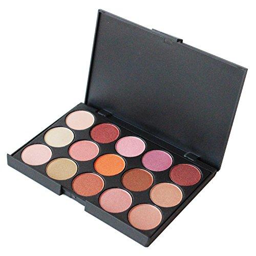 Winstonia Luxe 15 Color Eyeshadow Eye Shadow Makeup Palette