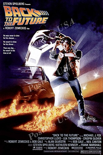 - Posters USA - Back to the Future Movie Poster GLOSSY FINISH - MOV038 (24