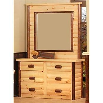 chester 6 drawer dresser with mirror kitchen dining. Black Bedroom Furniture Sets. Home Design Ideas