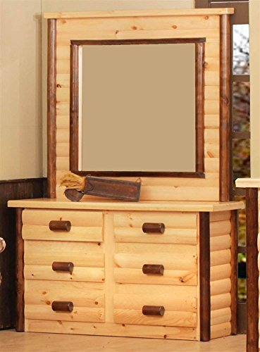 Chester 6-Drawer Dresser with Mirror (Mirror Chester Drawers Furniture)