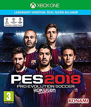 Pro Evolution Soccer 2018 Legendary Edition Xbox One Game [Importación inglesa]: Amazon.es: Videojuegos