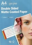 Picture Double sided matte all Inkjet printer Photo Paper 8.3''x11.6'' A4 Size 100 sheets weight 120gsm