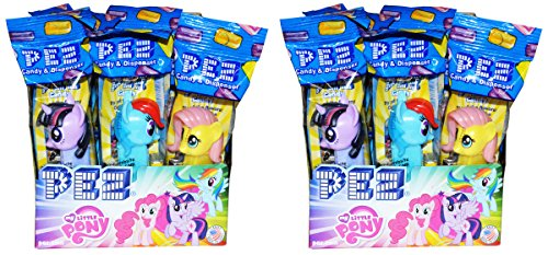 My Little Pony PEZ Candy Dispensers Party Favors Pack of 24