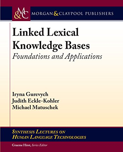 - Linked Lexical Knowledge Bases: Foundations and Applications
