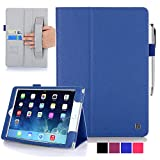iPad Air 2 Case - KAYSCASE FlipStand Case Compatible with Apple iPad Air 2 case, 6th Generation (2014 Release) 9.7 inch tablet with Sleep/Wake Function (Lifetime Warranty) (Blue)