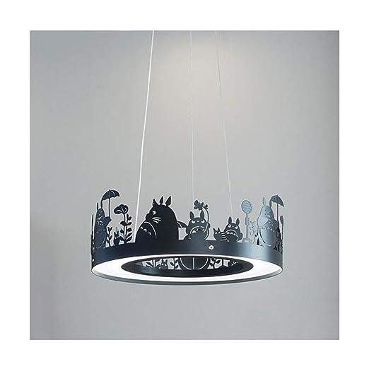 BHDYHM Candelabro Lámpara de techo Sala de estar Decoración ...