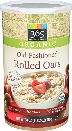 365 Everyday Value, Organic Old-Fashioned Rolled Oats, 18 Ounce 51rfTKOpq0L