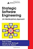 img - for Strategic Software Engineering: An Interdisciplinary Approach by Fadi P. Deek (2005-05-26) book / textbook / text book