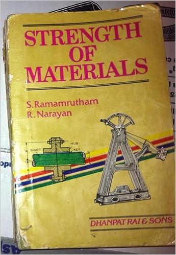 Strength Of Materials Book By Ramamrutham