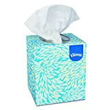 Kleenex 21270 Boutique White Facial Tissue, 2-Ply, Pop-Up Box, 95 Tissues Per Box (Box of 36)