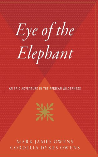 Book cover from The Eye of the Elephant by Delia Owens