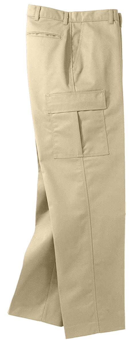 32 35 Edwards Garment Mens Big And Tall Button Closure Chino Pant TAN