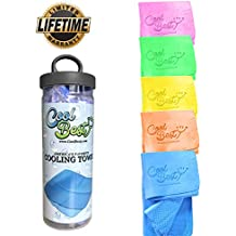 Cooling Towel - Workout / Tennis / Golf / Biking - Best For Any Sport Activities & Athletes Cold Towel - Chilly Pad By Cool Besty - Instant Cooling Snap Towel - Perfect For Fitness & Gym