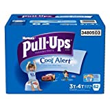 Health & Personal Care : Pull-Ups Training Pants with Cool Alert for Boys, 62 Count