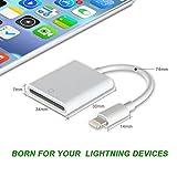 Card Reader, 3 in 1 Lightning to USB SD/TF OTG
