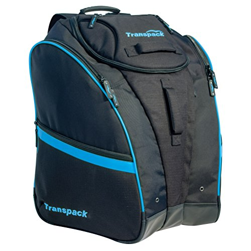 Transpack Competition Pro Ski Boot Bag 2018 - Black-Blue Electric by Transpack