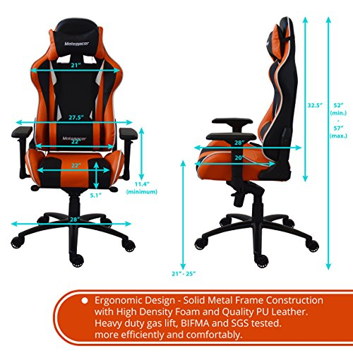 Motoracer Gaming Chair Player Edition Multi Function