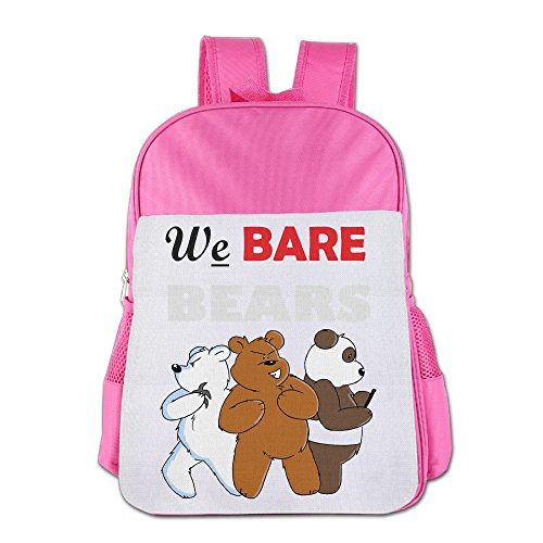 Bro-Custom We Bare Bears Bag For Children Pink (Pink Power Ranger Toddler Costume)