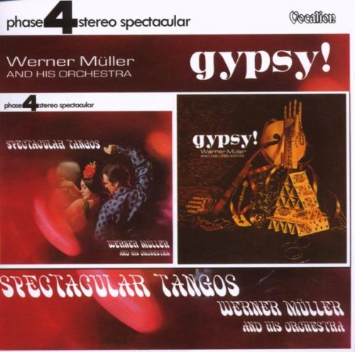 Spectacular Tangos Gypsy by Dutton Vocalion UK