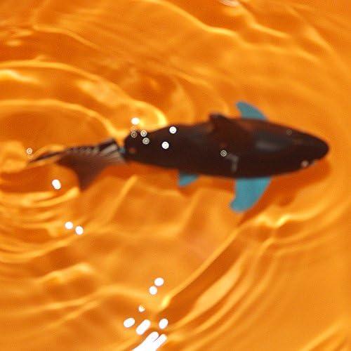 Escomdp Mini RC Fish Pez Tiburón Niños Recargable Juguete Eléctrico Control Remoto Tiburón Nadando Juegos de Agua Barco Los Mejores Regalos para Niños ...