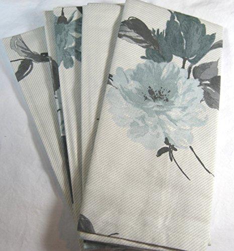 set-of-4-calvin-klein-painted-floral-napkins-light-blue-gray-20x20-100-cotton