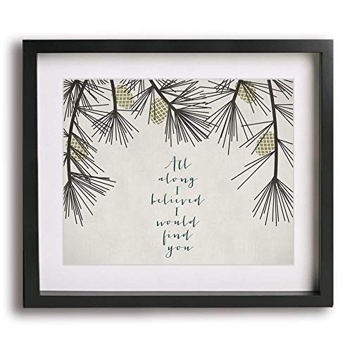A Thousand Years by Christina Perri inspired wedding song lyric art print,...