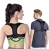 Kids Posture Corrector, Back Support Brace, Adjustable Breathable Back Shoulder Support Belt for Student/Women/Men, Improve Slouching & Hunching (B-1)