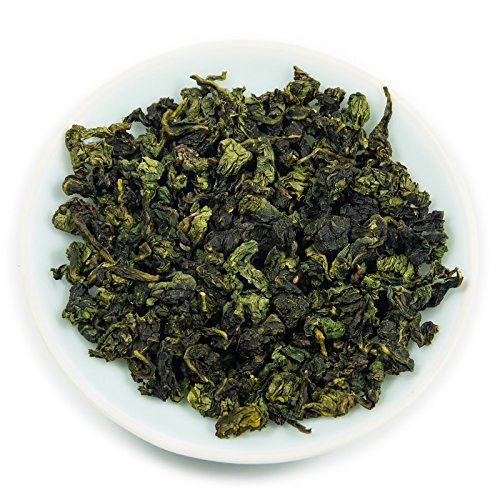 Oriarm 250g Tie Guan Yin Oolong Tea from Anxi Fujian, Chinese Tieguanyin Oolong Green Tea Loose Leaf, Natural Whole Leaves Rich Antioxidants Brew Hot Tea or Iced Tea
