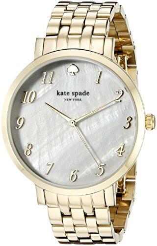 - kate spade new york Women's 1YRU0847 Monterey Analog Display Japanese Quartz Gold Watch