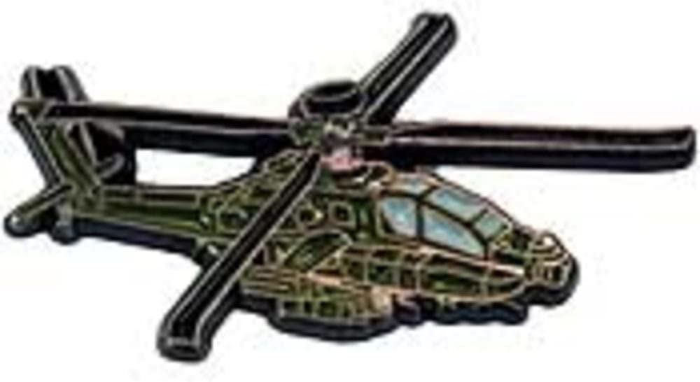 AH-64 Apache Helicopter Pin 1 1//4