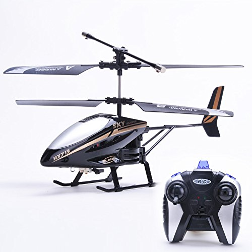 Etuoji Remote Control Helicopter Electric LED Head Light Outdoor Flying Toys