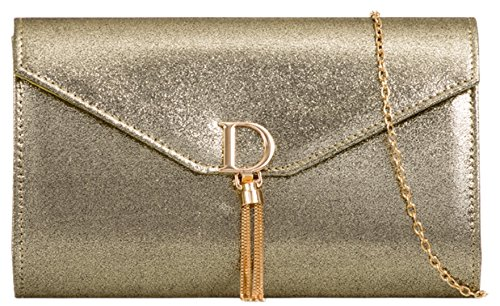 Girly HandBags Gold Bag Chain HandBags Girly Clutch Charm Chain qqBZRgwxF