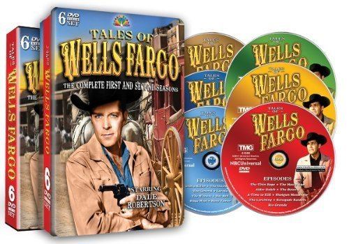 Tales Of Wells Fargo   The Complete First   Second Seasons  52 Full Episodes    Special Embossed Collectable Tin By Shout  Factory   Timeless Media