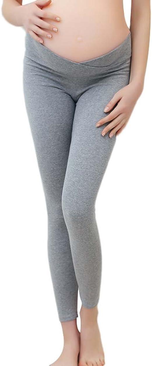 Keephen Leggings de maternité Taille Basse Pantalon de