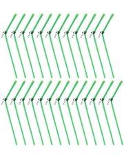 Wenxiaw Fiske balans kontakt fiske anti-trassel bom fiske fisk krok länk tillbehör PVC balanskontakt fiskeutrustning fiskeutrustning rör anti-trasselbommar, 22 cm, 25 delar