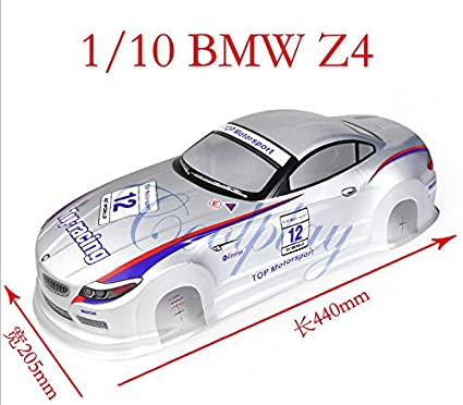 YHC 1/10 PVC Painted BMW Z4 Body Shell for RC On-Road Drift Tour Car