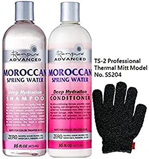 product image for Renpure Shampoo and Conditioner with TS-2 Glove (Moroccan Spring Water)