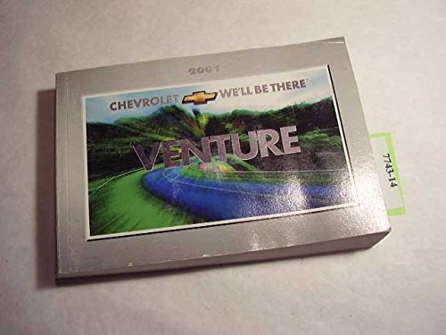 2001 Chevy Chevrolet Venture Owners Manual with Case