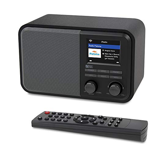 Ocean Digital WiFi Internet Radios WR-330D Digital Radio with FM Receiver, Subwoofer Speaker, 250 Preset Stations, Support UPnP & DLNA,Remote Control Alarm Clock Radio