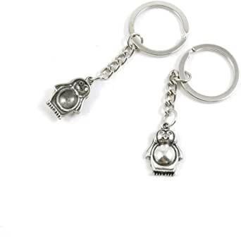 Fashion Jewelry Keyring Keychain Door Car Key Tag Ring Chain Z2IN1 Penguin