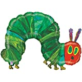 Burton & Burton the Very Hungry Caterpillar Shape Foil Balloon, 43""