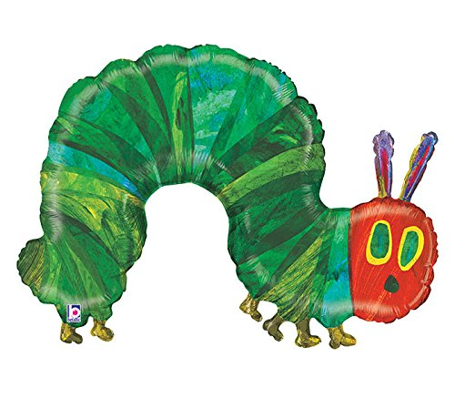 (Burton & Burton the Very Hungry Caterpillar Shape Foil Balloon, 43
