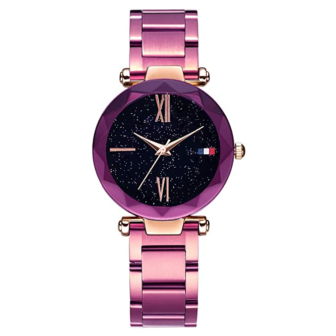 Amazon.com: Lananas - Reloj de pulsera de acero inoxidable ...