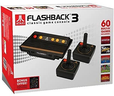 Atari Flashback 3 with 60 built in Atari games
