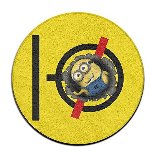 [MY LORD Yellow Capsule Superbanana Soldier Pilots Doormats / Entrance Rug Floor Mats] (Gru Dog Costume)
