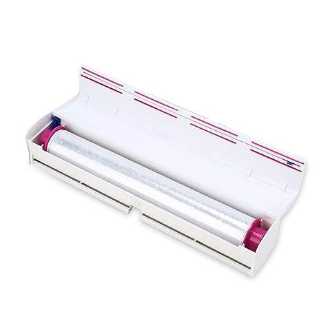 Cortador de Láminas de Plástico Cortaláminas Dispensador de Envoltura de Alimentos para Cocina