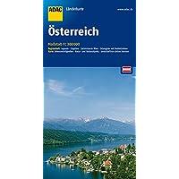 ADAC Länderkarte Österreich 1:300.000 (ADAC Länderkarten)