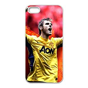 Happy MANCHESTER UNITED Premier Soccer Phone Case for Iphone 5s