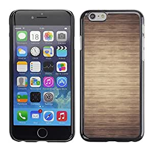 Pulsar Snap-on Series Teléfono Carcasa Funda Case Caso para Apple Iphone 6 Plus / 6S Plus ( 5.5 ) , Patrón Beige minimalista Horizontal""